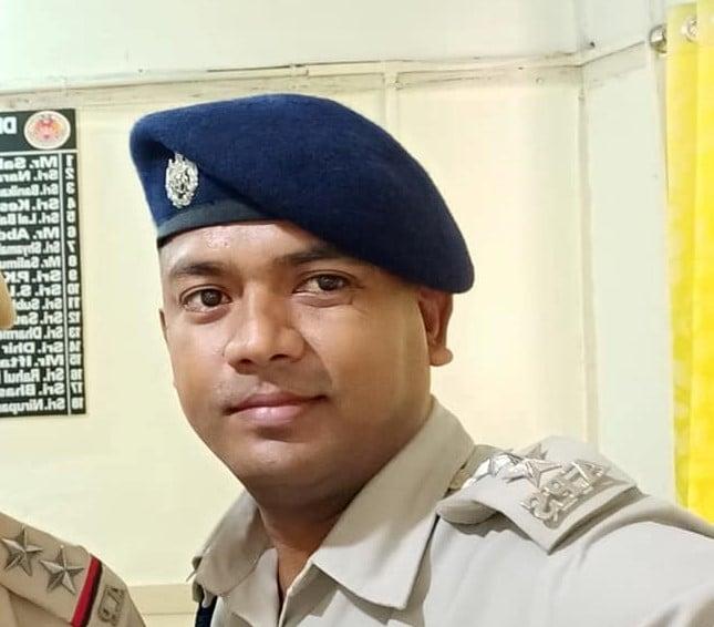 Dhubri DSP Trinayan Bhuyan. Photo courtesy: Bhuyan's Facebook page