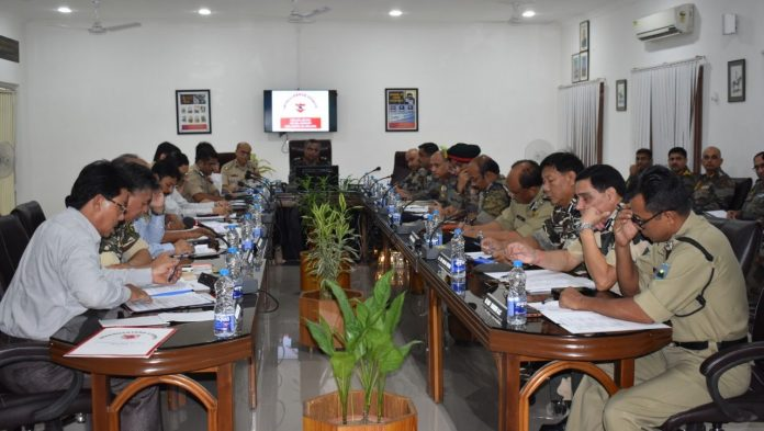 The meeting emphasized the requirement to take proactive measures to avoid any adverse law and order situation.
