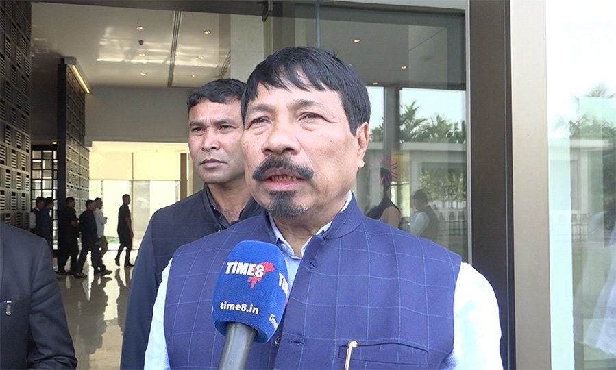 A file photo of Assam Agriculture Minister and AGP president Atul Bora. Photo: TIME8