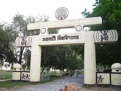Assam: Massive fire breaks out at Gauhati University hostel