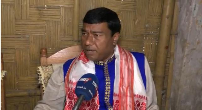 Union Minister Rameswar Teli