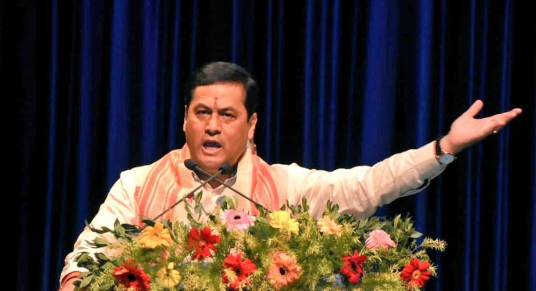 Assam CM Sonowal distributes subsidy to film producers