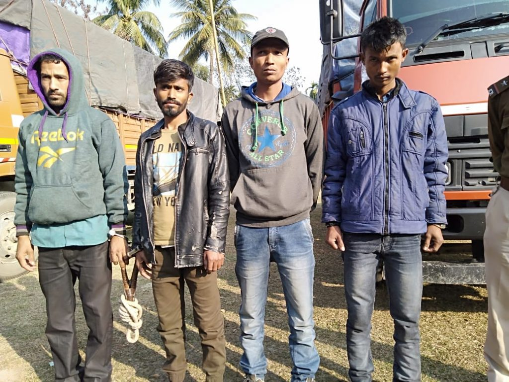The Helem police and the Biswanath police jointly seized a huge consignment Arunachali wine in the wee hours of February 4th, 2020.