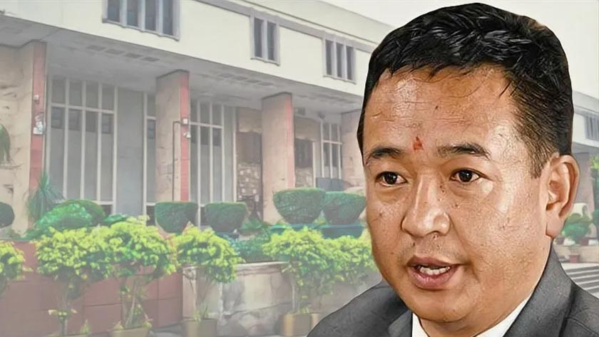 Chief Minister Prem Singh Tamang