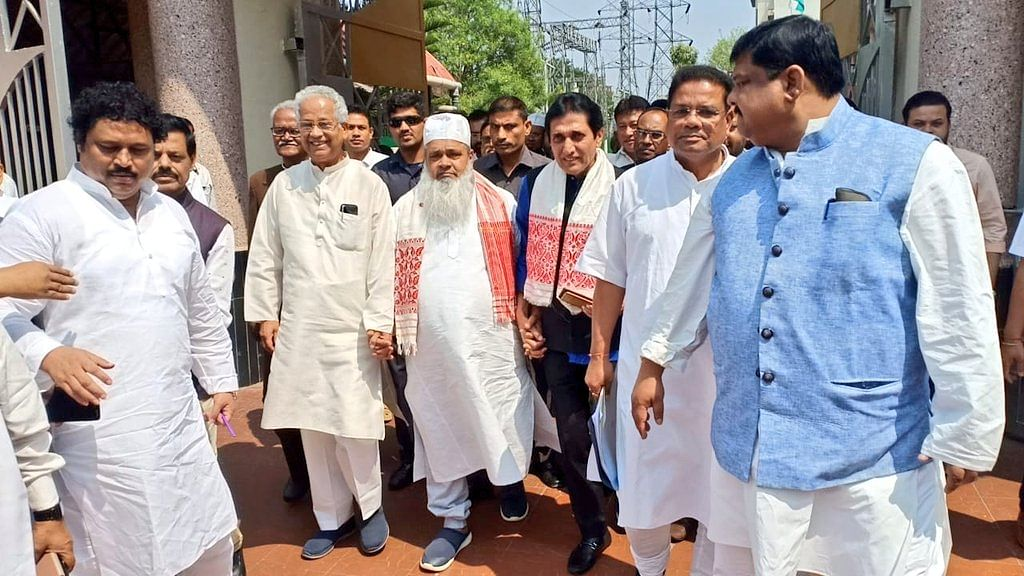 Maha Gathbandhan is official now! Congress joins hands with AIUDF, AGM & Left