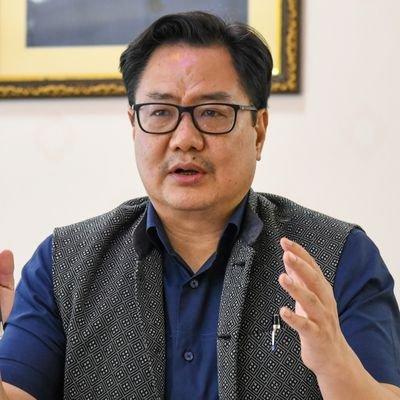 Arunachal: Union sports minister Kiren Rijiju tests positive for COVID-19