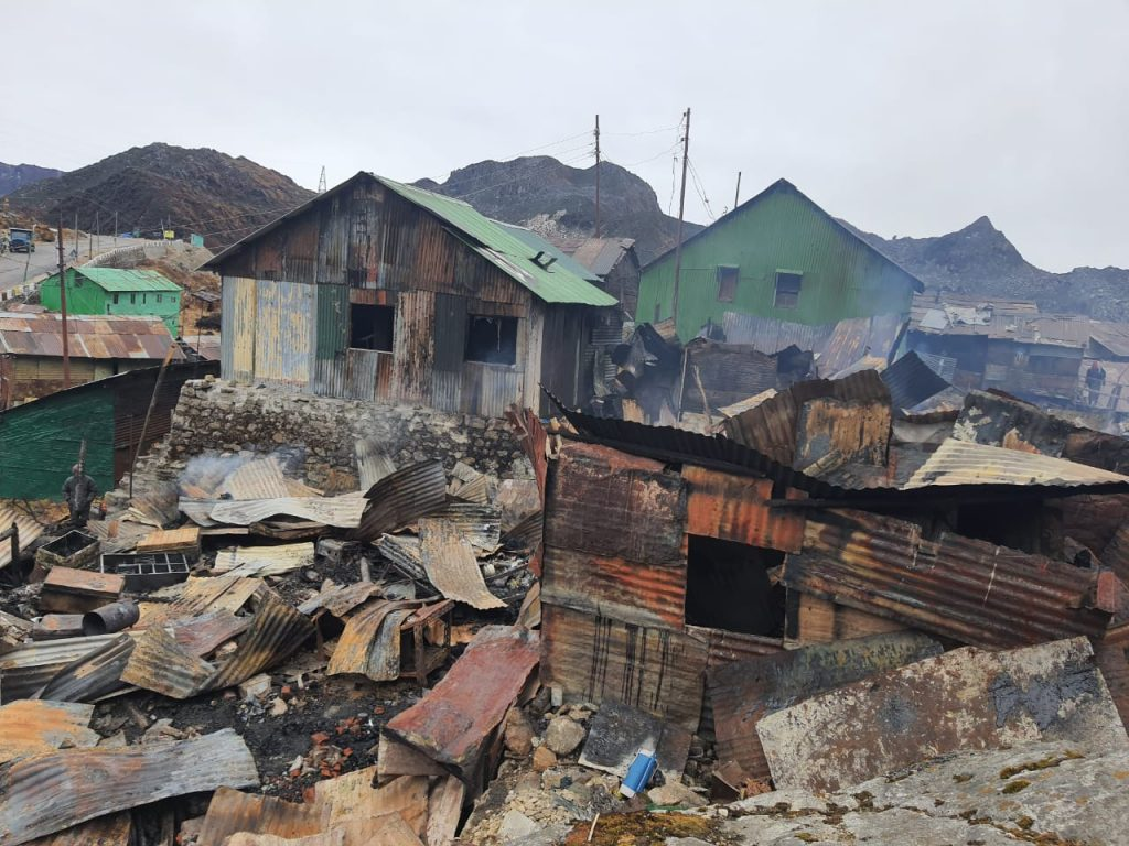 Army averts major fire in remote village in east Sikkim