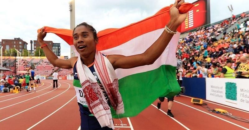 Assam sprinter Hima Das qualifies for Tokyo Olympics 2021