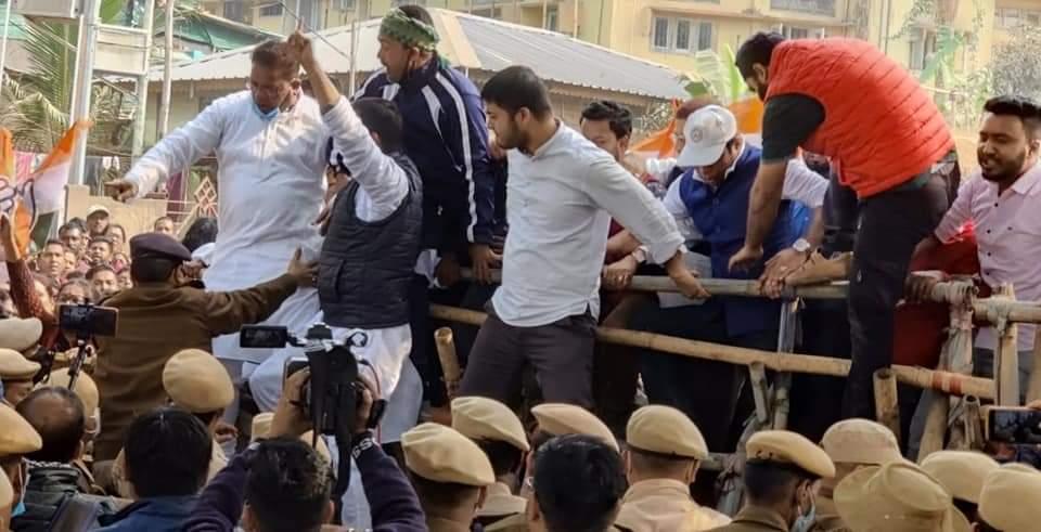 'Assam Police tried to kill us': APCC president Ripun Bora