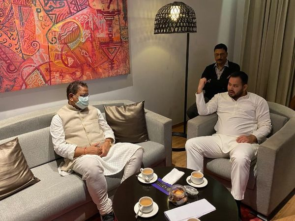 Tejashwi's Mission Assam: RJD holds talks with Congress and others
