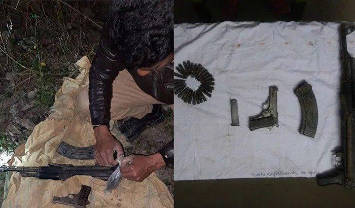 Assam: AK-56 assault rifle, bullets recovered in Kokrajhar