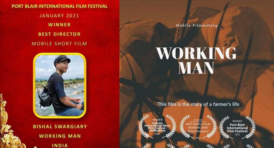 Assam filmmaker's short film 'Working Man' bags 3 international awards