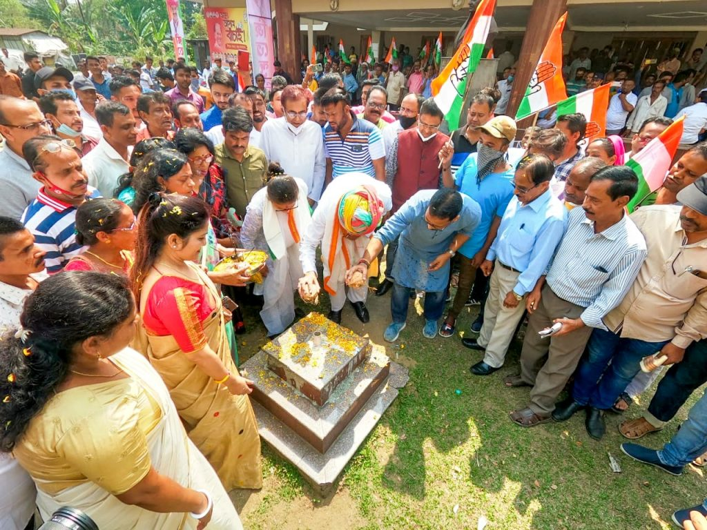 Congress launches third phase of 'Congressor 5 Guarantee Yatra' from Silchar