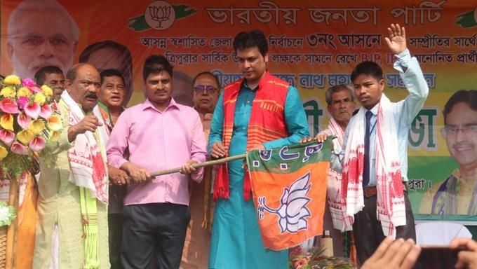 Tripura CM Biplab Kumar Deb tests positive for COVID-19