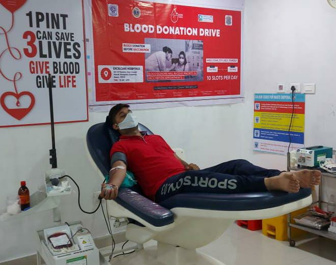 Guwahati: Excelcare Hospital initiates Blood Donation Drive from May 1